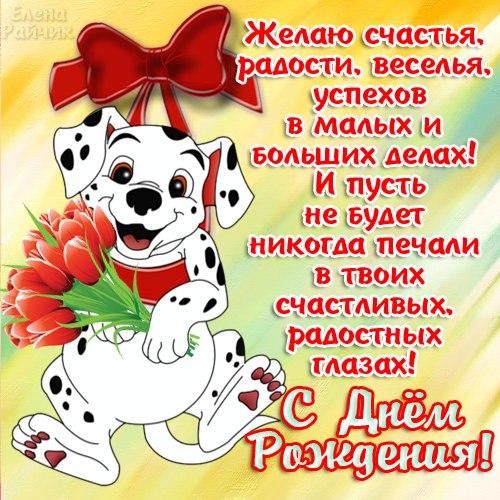Желаю счастья, радости успехов! С днем Рождения!
