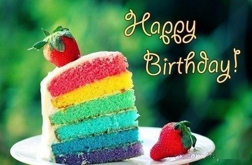 Happy Birthday! Кусочек тортика